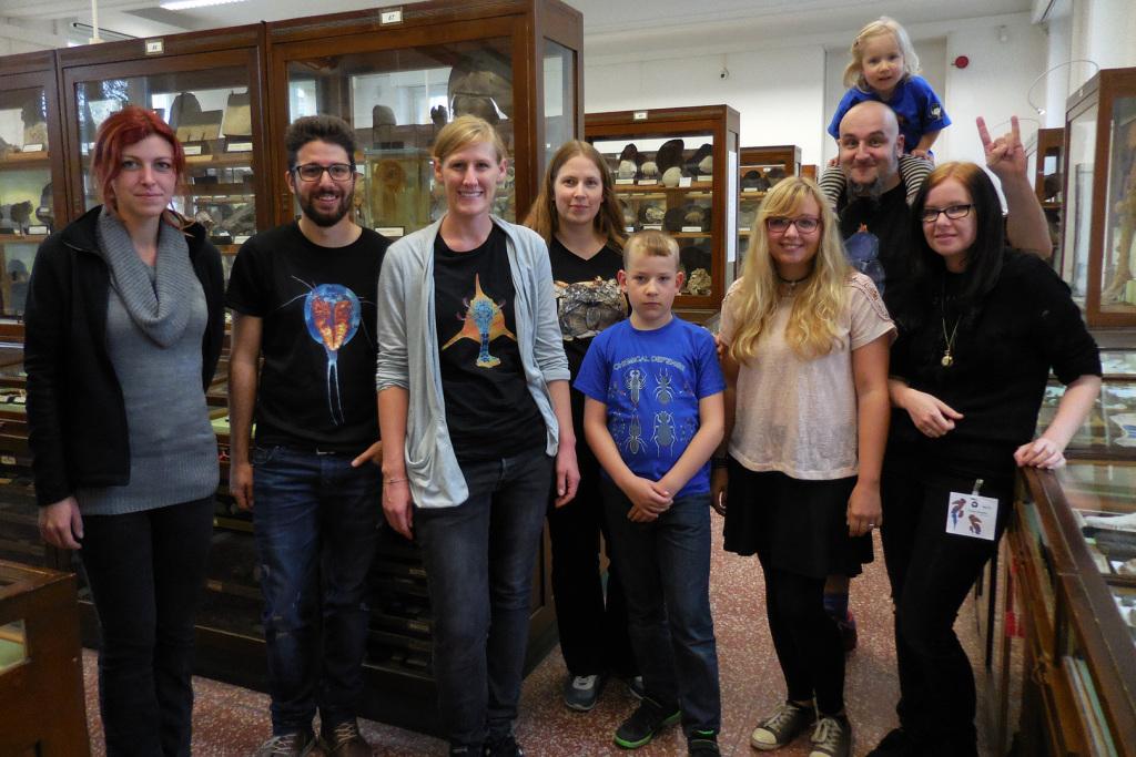 Palaeo-Evo-Devo-Team beim Paläoentomologentreffen in Bonn